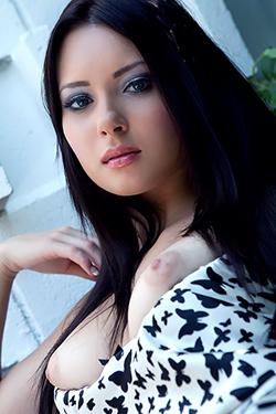 Natasha Belle - Black And White Dress