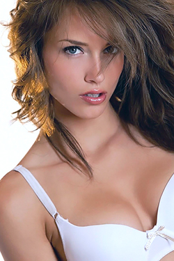 Malena Morgan In Her White Bra For Digital Desire