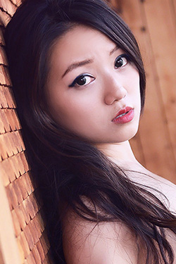 Cute Petite Asian Girl Cassie Lang For Metart