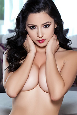 Reyna Arriaga In Erotically Charged For Playboy