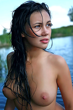 Beautiful Natur Girl Martisha For Domai