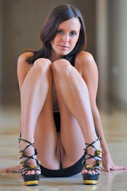 Cassidy In Black Dress For FTV Girls