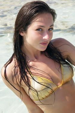Amie Bikini Babe for U Got It Flaunt It