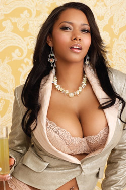 Busty Ebony Model for Black Men Digital