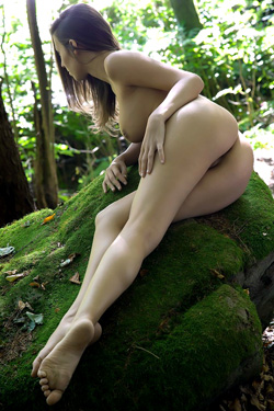 Lizzie in Forest Nymph for Femjoy