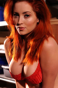 Lucy V Red Hot