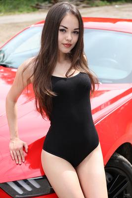 Li Moon Red Hot Ferrari Via Watch4Beauty - 02