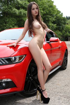 Li Moon Red Hot Ferrari Via Watch4Beauty - 07