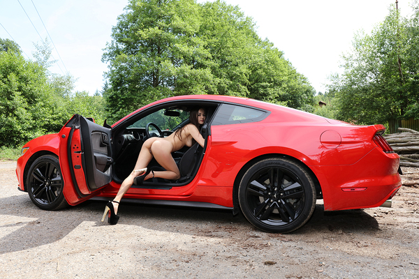 Li Moon Red Hot Ferrari Via Watch4Beauty - 14