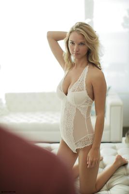 Beautiful Blonde Babe Lily Ivy Via X-Art - 00