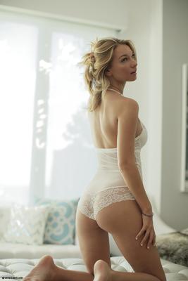 Beautiful Blonde Babe Lily Ivy Via X-Art - 01